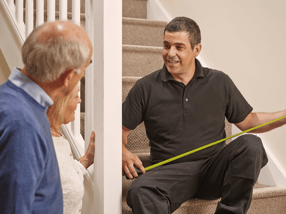Stairlift Service in Covington, VA by an experienced technician