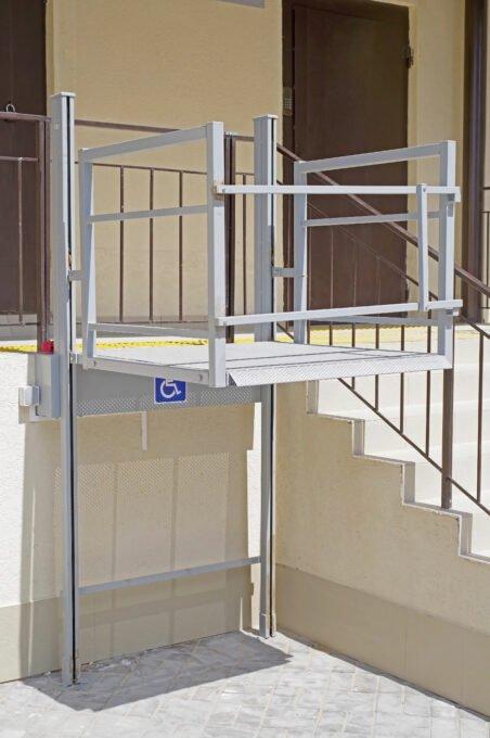 Platform lift in Danville
