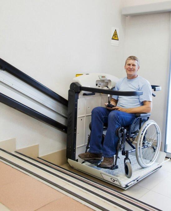 Wheelchair lift in Rocky Mount