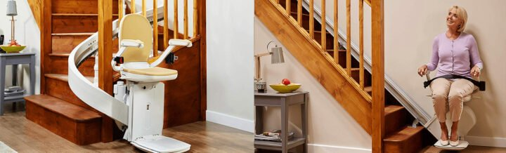 Curved Stairlifts in Danville, Lexington, VA, Lynchburg, Roanoke, VA